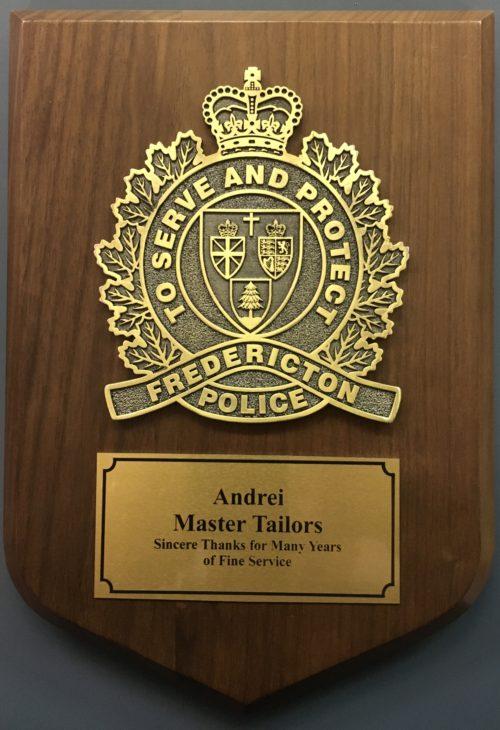 https://andreitailors.com/wp-content/uploads/2018/06/Fredericton_Police_Plaque-2-e1529944371709.jpg